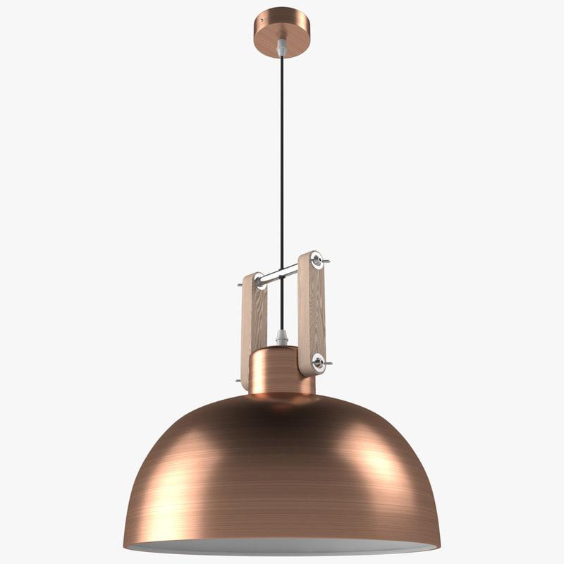 21th century copper 3D model