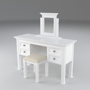 3D banbury dressing table