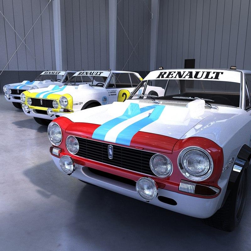 3D renault torino nurburgring model