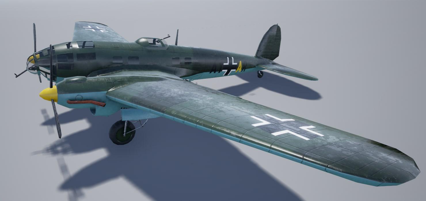 heinkel 111 3D