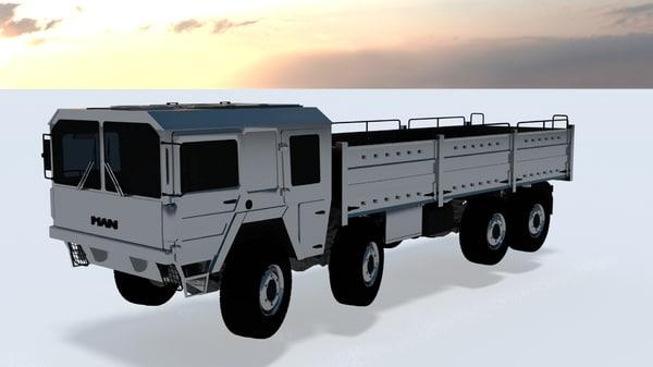 man mil gl 8x8 model
