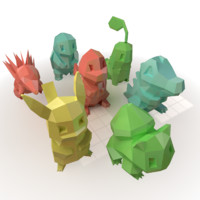3D pocket monster