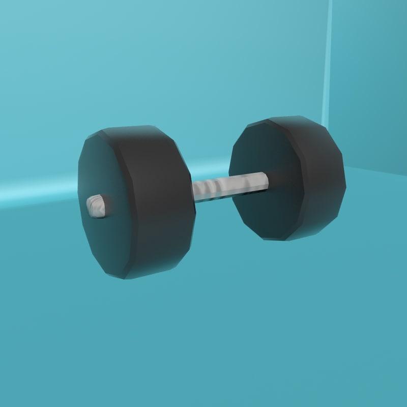 3D dumbbell