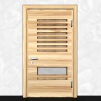 wooden door 3D