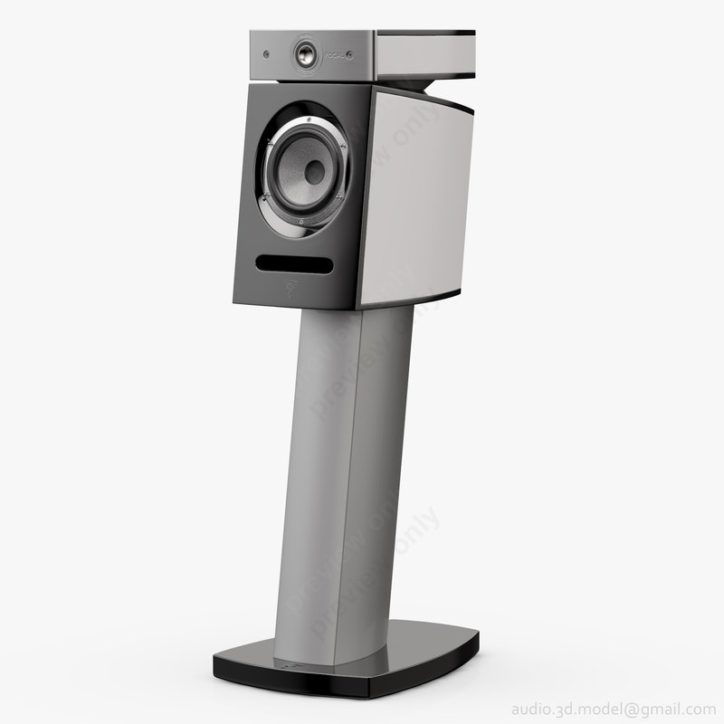 bookshelf stand focal jmlab 3D model