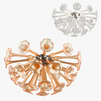3D chandelier bardano lightstar model
