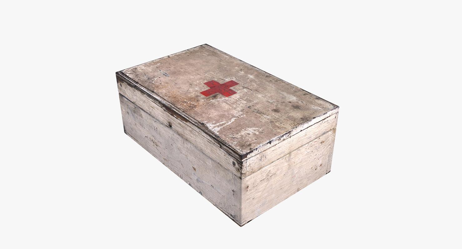 treatment box games 3D model