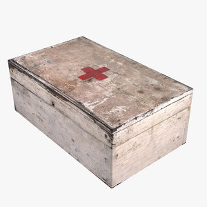 treatment box games 3D model