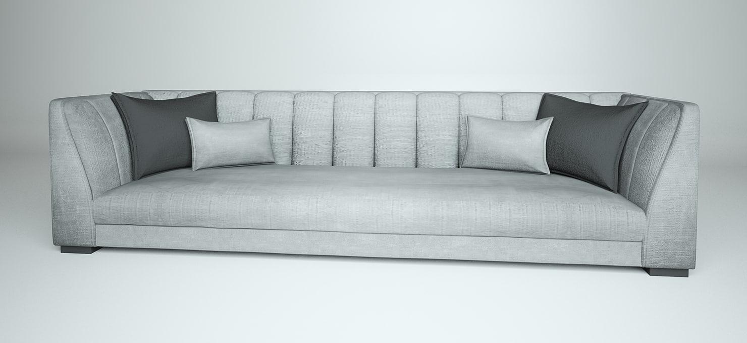 3D sofa2 model