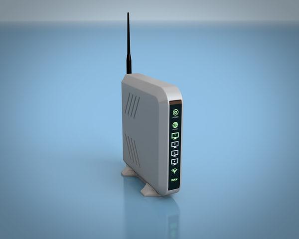 3D model router