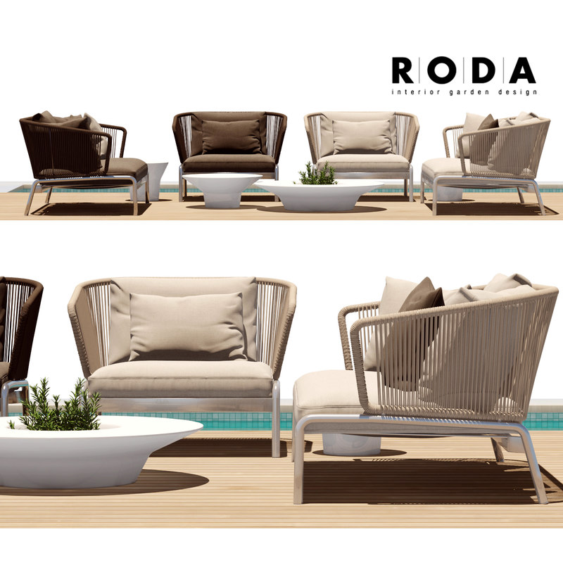 Spool Roda Outdoor Furniture 3d