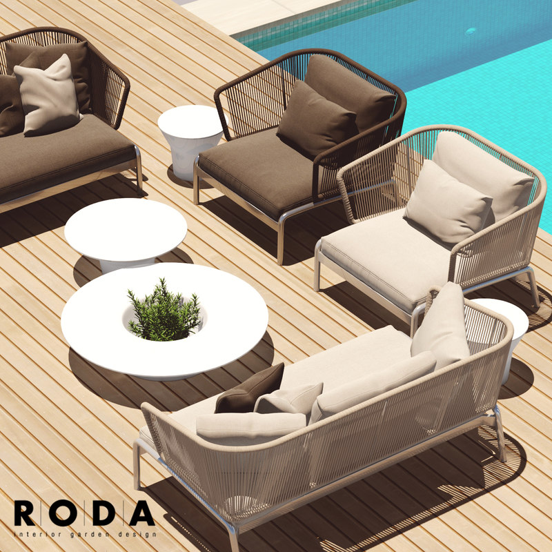 spool roda outdoor furniture 3D - Spool Roda Outdoor Furniture 3D 1142123 TurboSquid