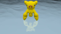 3D model midrich ghost girl