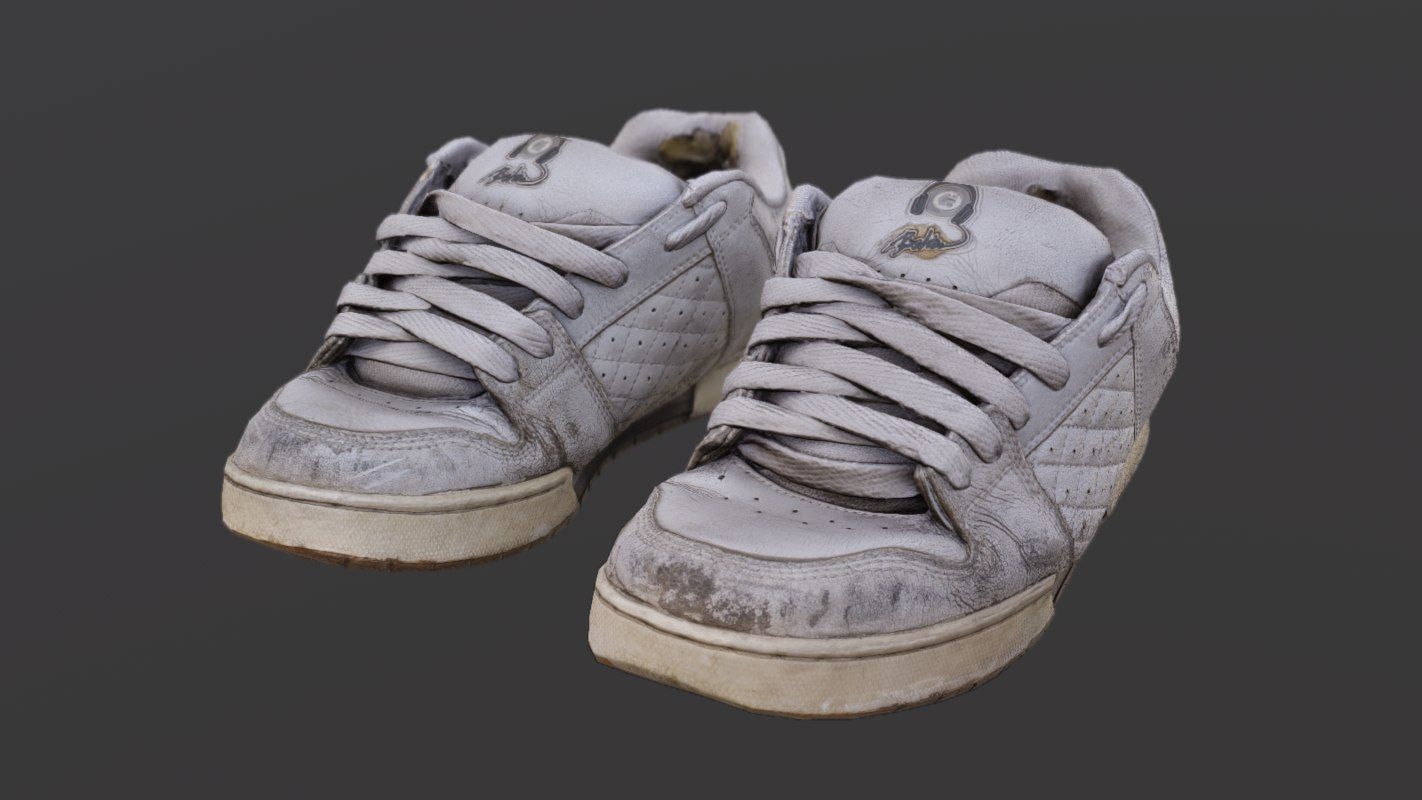 3D shoe pbr model
