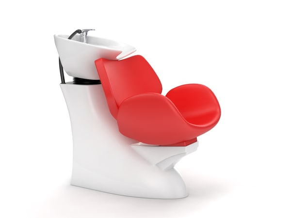 hair chair 3D model