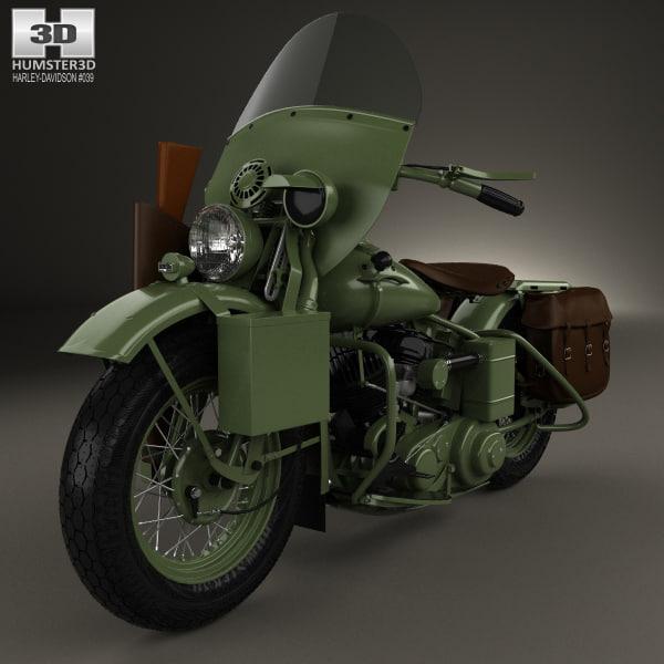 harley davidson harley-davidson 3D model