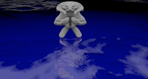 3D ontu fantasy creature model