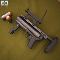 heckler koch h 3D model