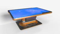 3D sci - fi table model