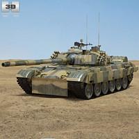 3D model pt-91 pt 91
