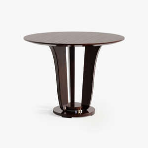 baker end table 3D