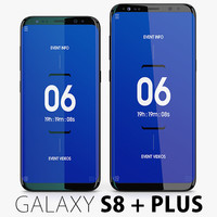 Samsung Galaxy S8 + S8 Plus Midnight Black COLLECTION