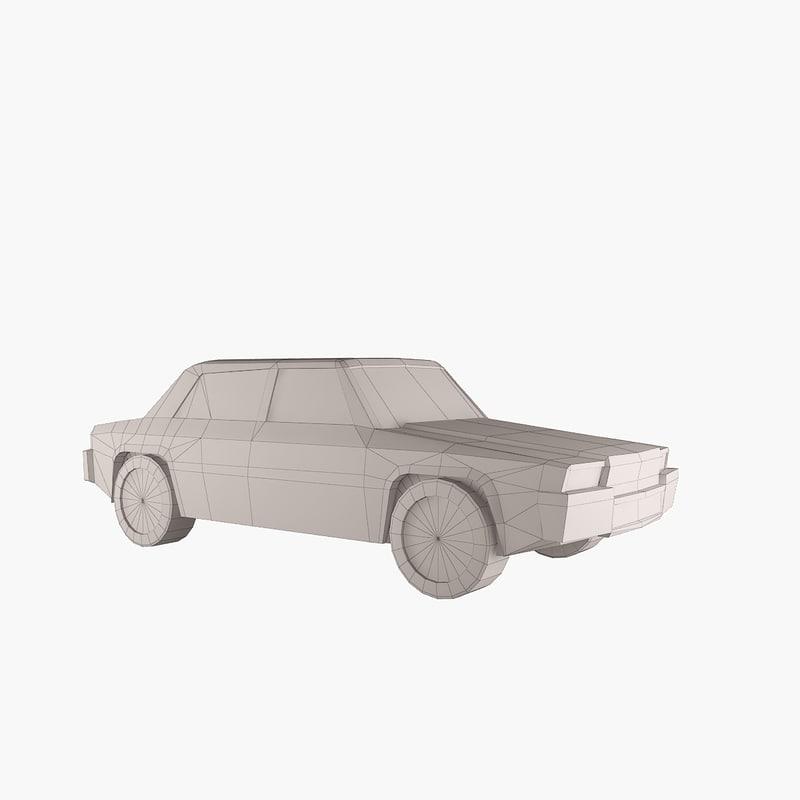 3D car scaled 1