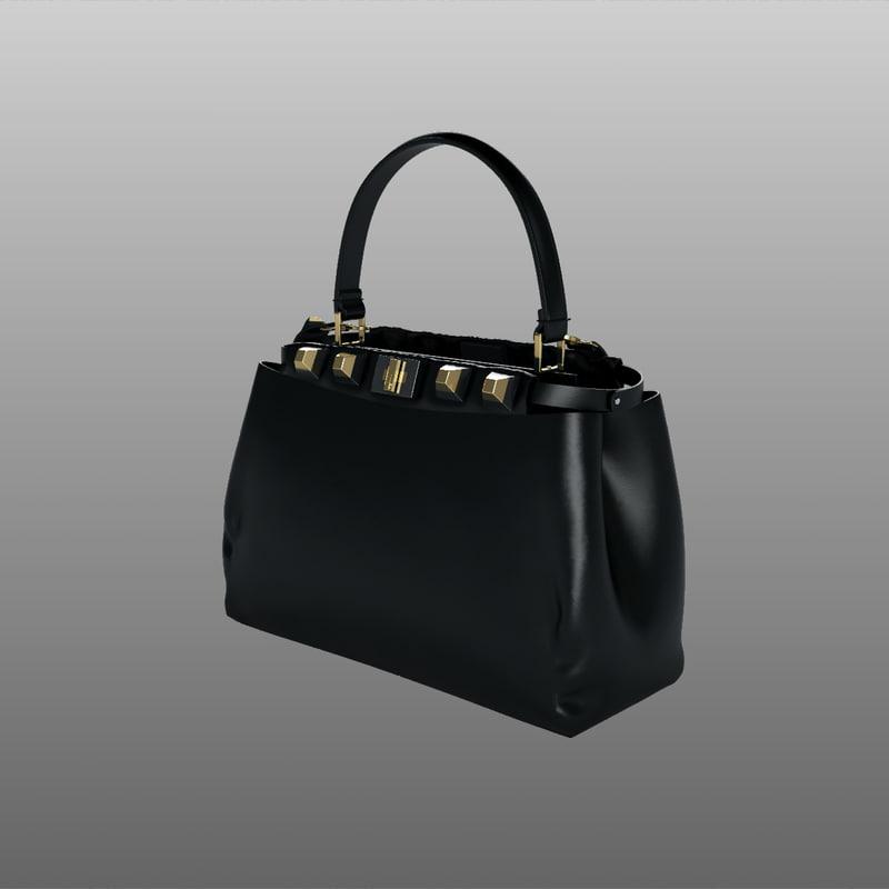 fendi mini bag model