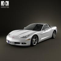 3D model chevrolet corvette c6