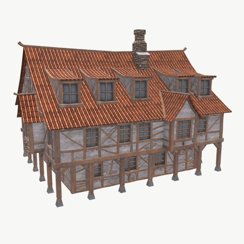 3D medieval tavern house games