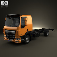 chassis daf lf 3D