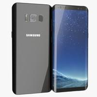 samsung galaxy s8 3D