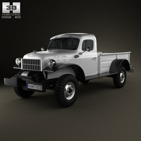 3D dodge power wagon