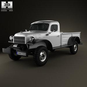 3D dodge power wagon