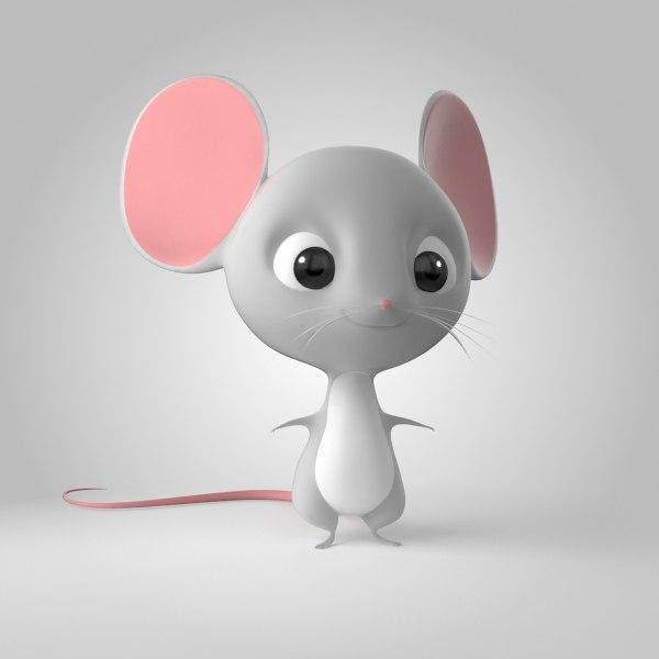 3D model mice