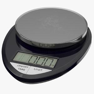 drug scale gram 03 3D model