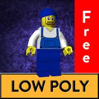 character lego 3D model