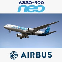 3D airbus a330 neo