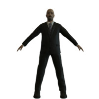 businessman mobile edition polies 3D model