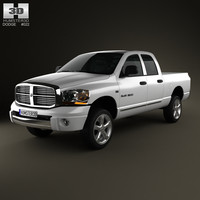 Dodge Ram 1500 Quad Cab Laramie 140-inch Box 2008