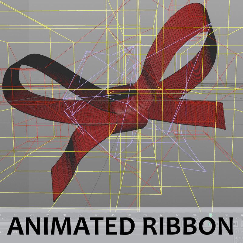 3D ribbon