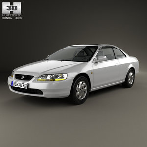 honda accord 1998 3D model