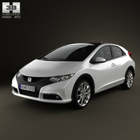 3D honda civic eu
