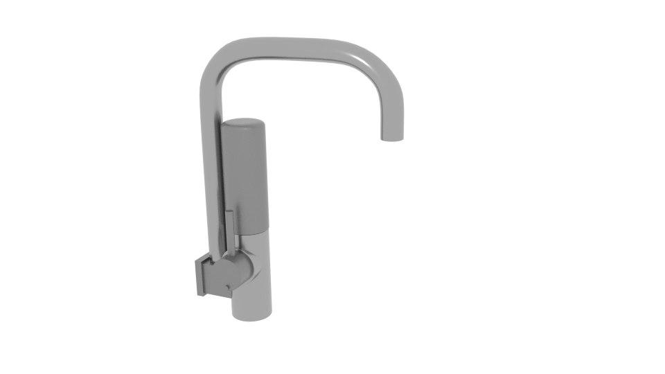 filter faucet 3D model