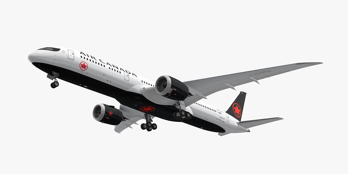 boeing 787-9 air canada model