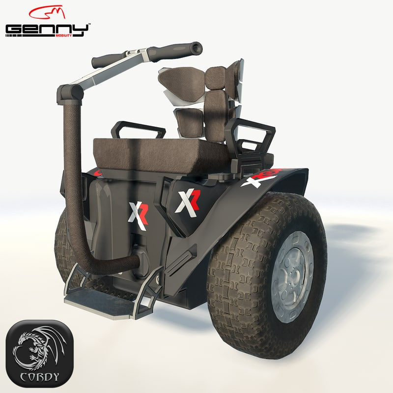 3D model genny mobility