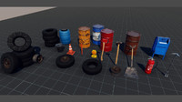 Industrial Starter Pack (Game Ready)