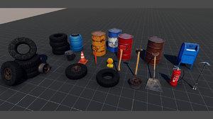 ready pbr 3D model