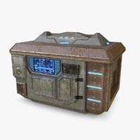 Sci Fi Armor Crate Box