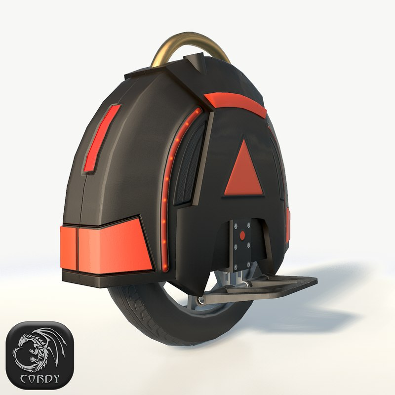 self-balancing monowheel wheels model